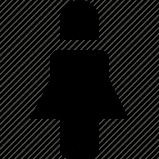 female, human, pedestrian, person, user icon