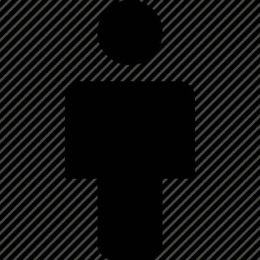 human, male, pedestrian, person, user icon