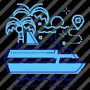 passenger, cruise, voyage, liner