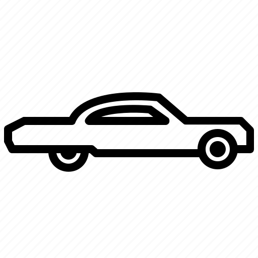 Car, low rider, transport, vehicle icon - Download on Iconfinder