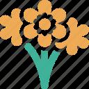 florist, plants, flowers, vendor icon