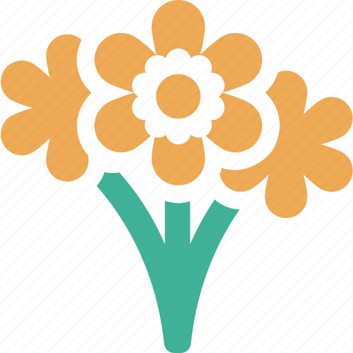 florist, flowers, plants, vendor icon