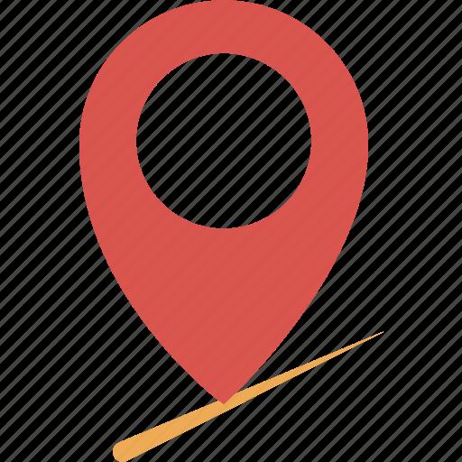 area, map, marker, place, venue icon