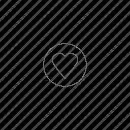 favorite, health, heart, like, love, valentine's, venti icon