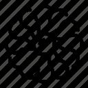 blades, multi, rotator, thin, vector, yul950 icon