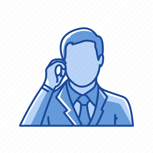 call, cellphone, male, message icon