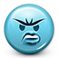 angry, dissapointed, emoji, emoticon, smiley, smiley face icon