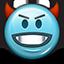 devil, devilish, emoticon, evil, smiley, smiley face icon