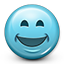 emoticon, happy, lol, smile, smiled, smiley, smiley face icon