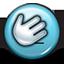 emoticon, facepalm, hand smack, smiley, smiley face icon