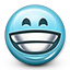 big grin, emoticon, grin, grining, grinn, grinning, smiley, smiley face, teeth smile icon