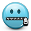 emoticon, mouth closed, secret, smiley, smiley face icon