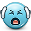 bla, bla bla bla, can't hear you, don't listen, ears closed, emoticon, smiley, smiley face icon
