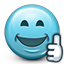 emoticon, like, smiley, smiley face, thumbs, thumbs up icon