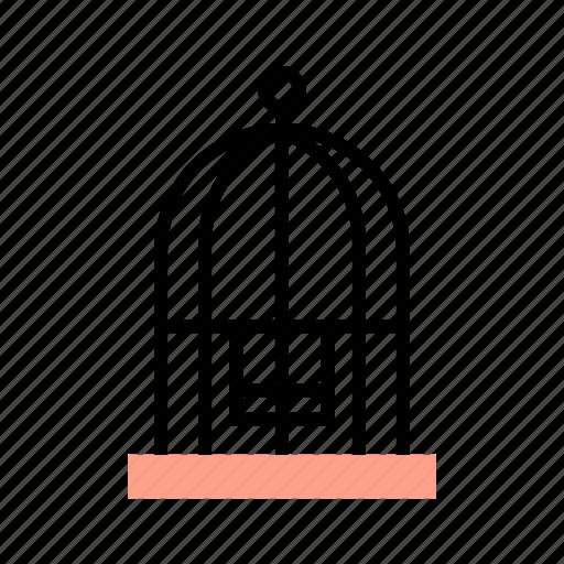 Bird, birdcage, cage, decoration, pet, veterinary icon - Download on Iconfinder