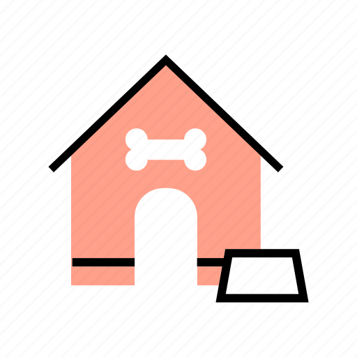 canine, dog, doghouse, house, kennel, pet, puppy icon