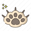 claw, declawing, pet icon