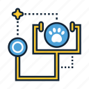 animal, checkup, pet icon