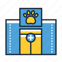 animal, health, hospital icon