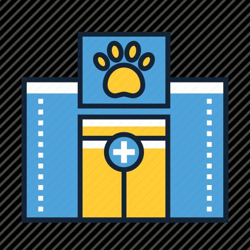 animal, health, hospital icon