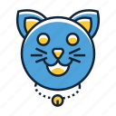 cat, feline, kitty, pet icon