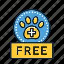 care, free, veterinary, service