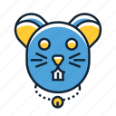 hamster, pet, rodent icon