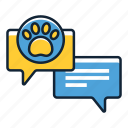 advice, pet, support icon