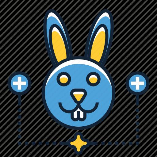 bunny, rabbit, vet icon
