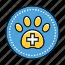 veterinary, animal, doctor, vet icon