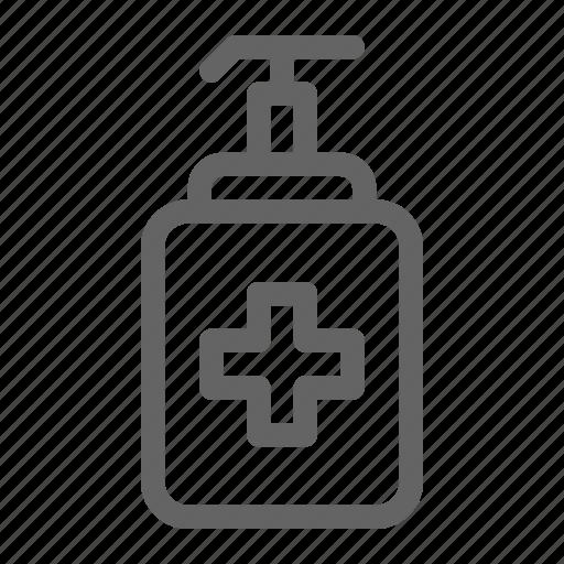 antiseptic, clinic, healthcare, vet icon