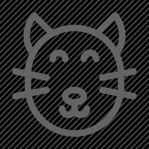 cat, fur, kitten, pet icon