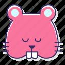 cute, hamster, pet
