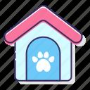 animal, boarding, house, pet icon
