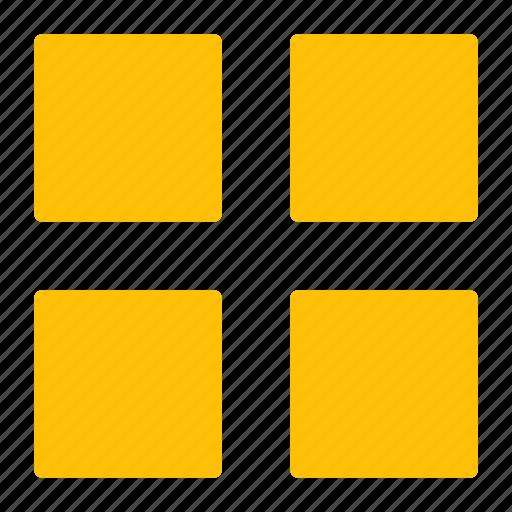 block, design, editor, grid, made, view icon