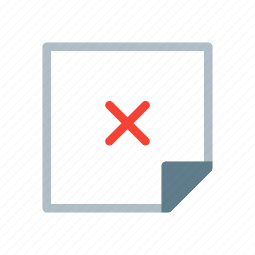 delete, design, graphic, layer, note icon