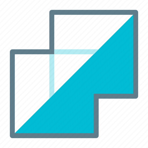 design, flatten, graphic, layers, merge, tool icon
