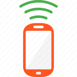 cellphone, connecting, device, mobile, phone, smartphone icon