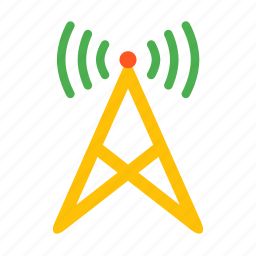 communication, device, podcast, radio, station, wifi, wireless icon