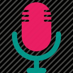 audio, device, microphone, podcast, radio, recorder icon