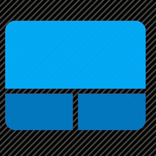 computer, device, input, io, trackpad icon