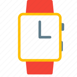 accessory, device, time, watch icon