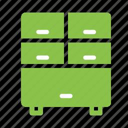 cabinet, closet, cupboard, furniture, interior, storage icon