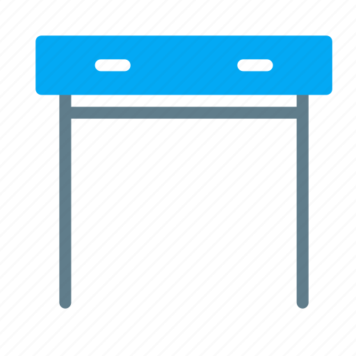 console, drawer, furniture, interior, living, standing, table icon