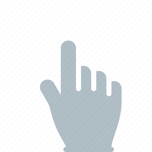 finger, gesture, hand, tap, touch icon