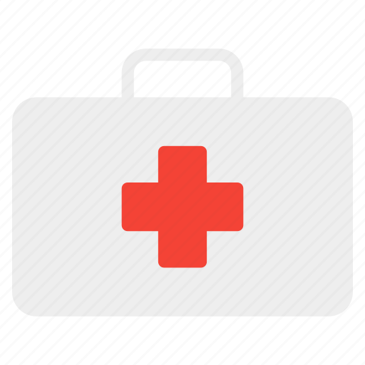 cross, doctor, first aid, health, hospital, medical, suitcase icon