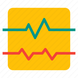 activity, health, heatbeat, medical, pulse icon