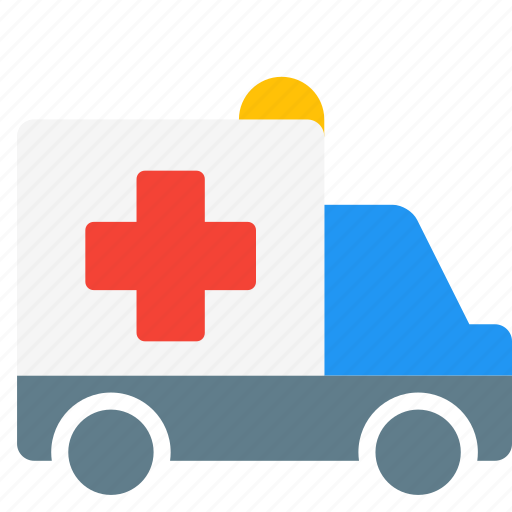 ambulance, emergency, health, hospital, truck, vehicle icon