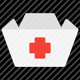cross, hat, health, medic, medical, nurse icon