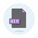 aep, files, video icon